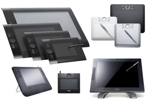 Wacom tablets