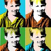 Andy Warhol Pop Art Silkscreen Effect