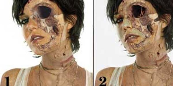 Фотошоп как сделать зомби