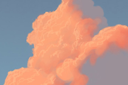 How To Paint Clouds. Painting Clouds