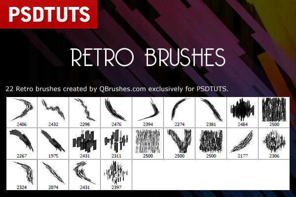 retro brush